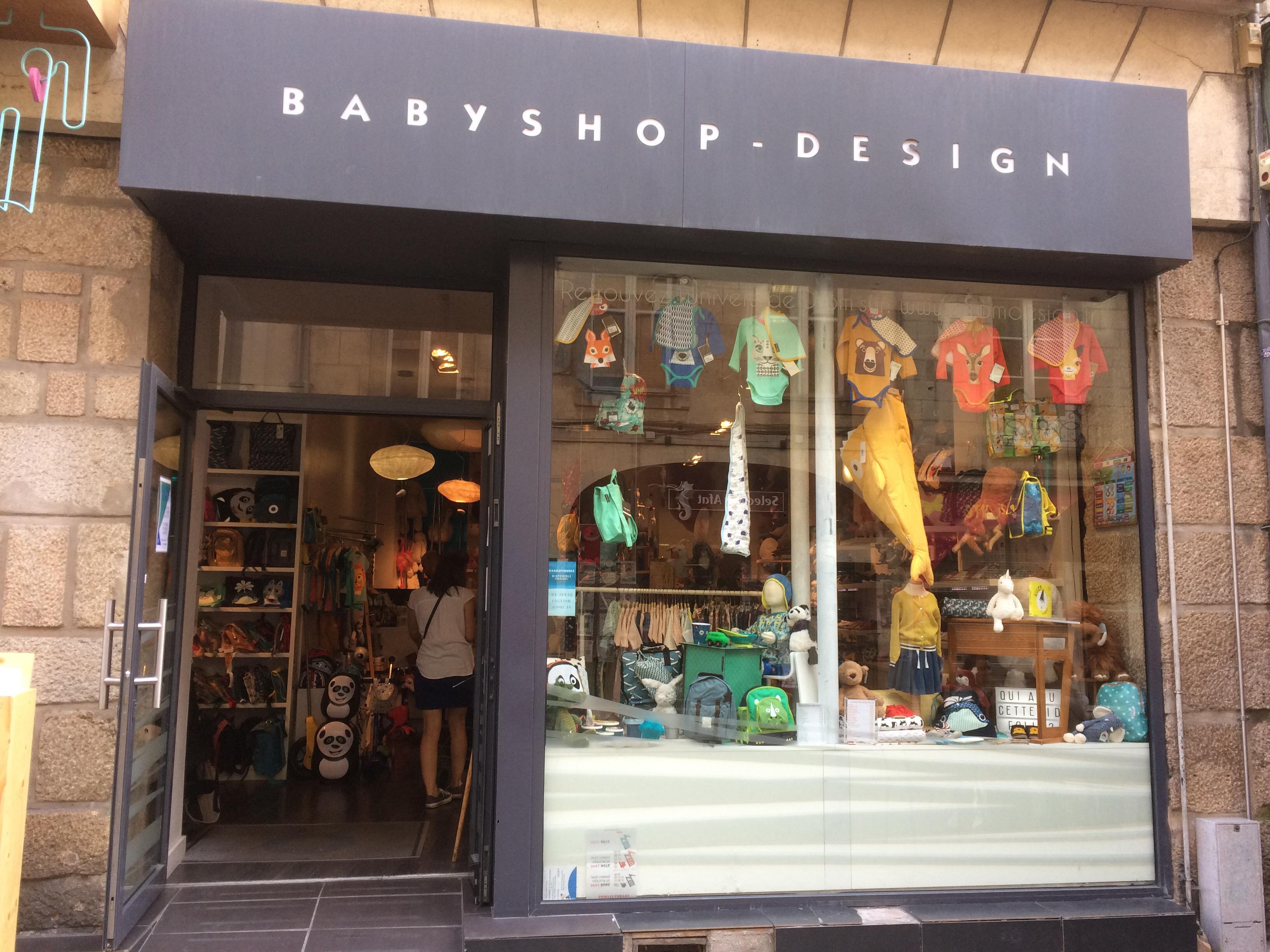Dröm nantes babyshop design