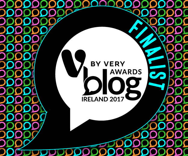 FINALIST! V by Very Blog Awards Ireland